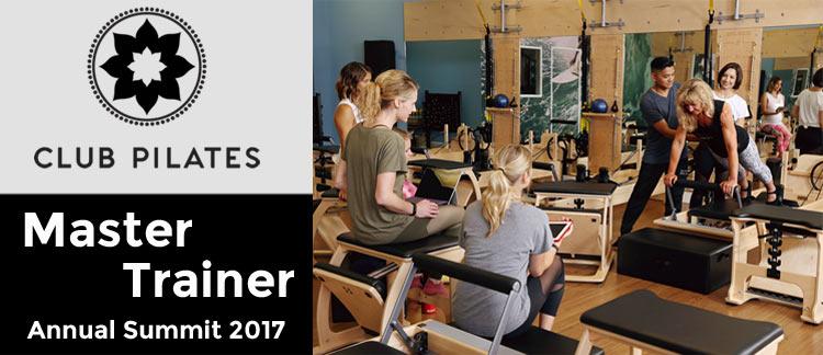 Club Pilates Master Trainer Summit Irvine Ca Jan 2017