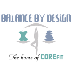 Balance by Design CORE Fitness logo