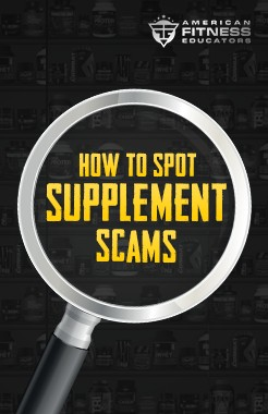 How To Spot Supplement Scams